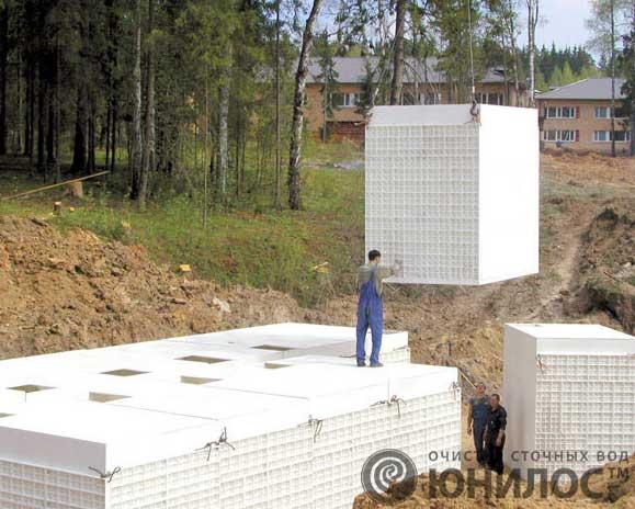 Реконструкция очистных сооружений и КНС